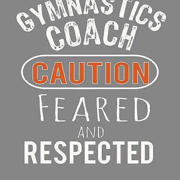 Scary Gymnastics Coach Gift Design by LGamble12345