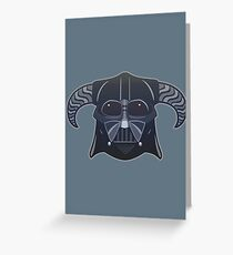 Darth-Dovahkiin Greeting Card