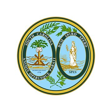 Seal of South Carolina by fourretout