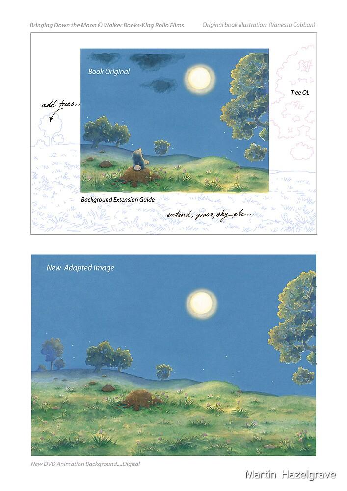 Book Adaptation....Bringing Down the Moon by Martin  Hazelgrave