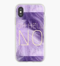 Oh Hölle Nein iPhone-Hülle & Cover