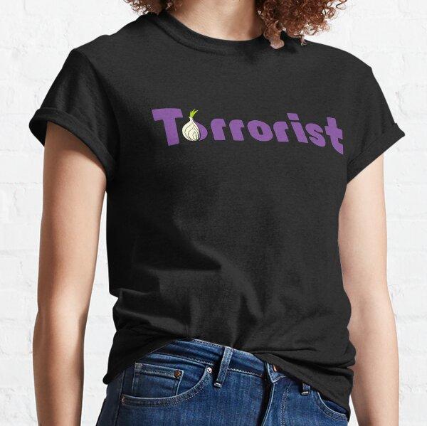 Nerd & Geek - Tor Browser Terrorist Classic T-Shirt
