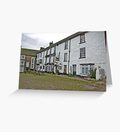 The Black Bull Hotel - Reeth Greeting Card