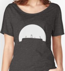 Bremen football stadium in the sunset  Women's Relaxed Fit T-Shirt