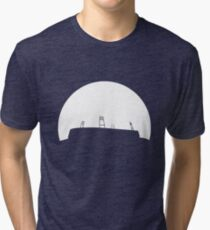 Bremen football stadium in the sunset  Tri-blend T-Shirt