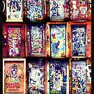 Graffiti Doors of New York City, NYC by icoNYC