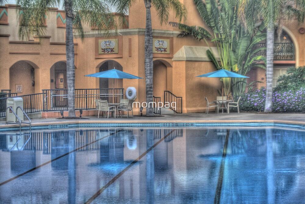 Pool Side by mompaq