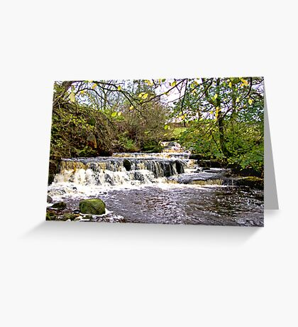 Waterfall #1 Greeting Card