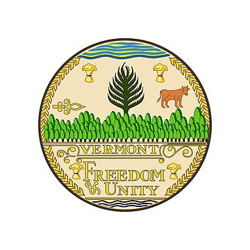 Vermont State Seal by fourretout