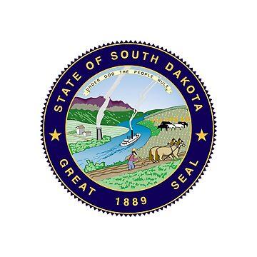 South Dakota State Seal by fourretout