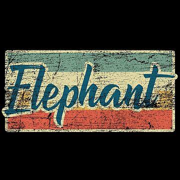Elephant animal welfare by GeschenkIdee