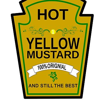 Funny Mustard Halloween Costume T-Shirt by troy1969