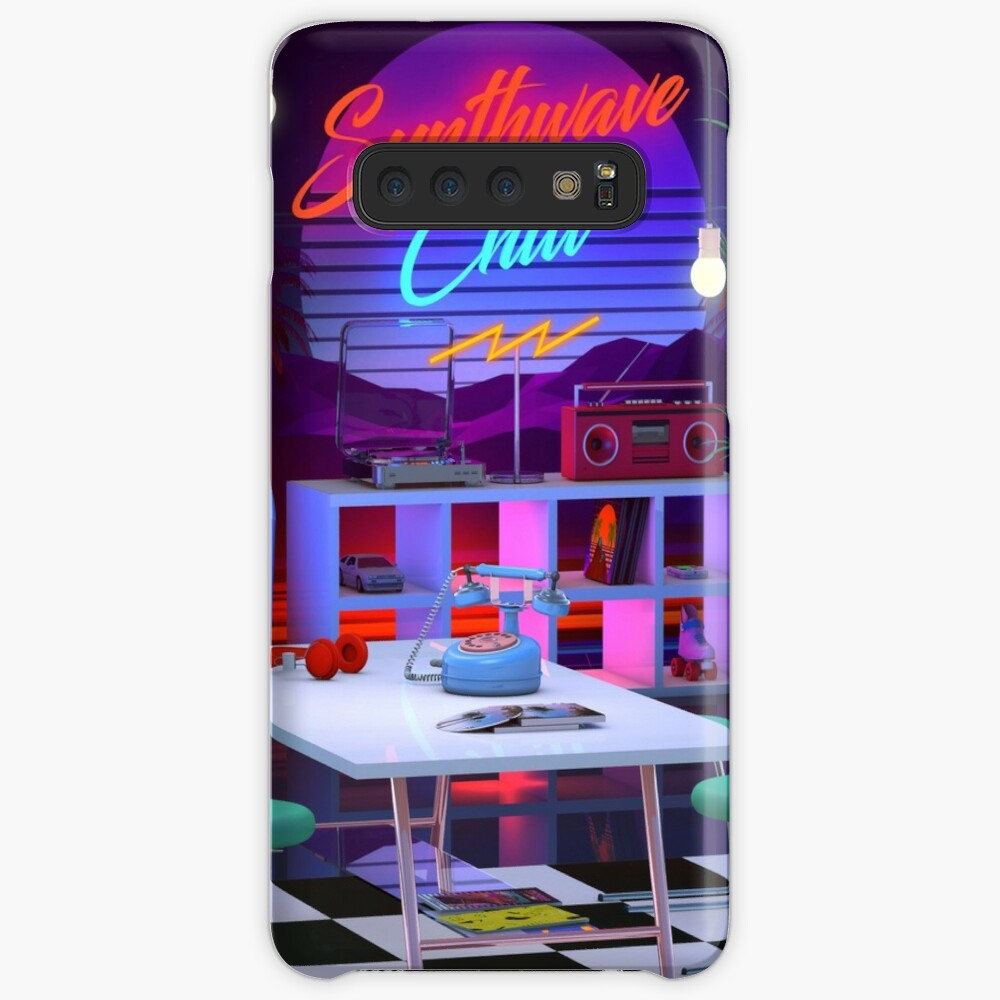 Synthwave And Chill Case & Skin for Samsung Galaxy