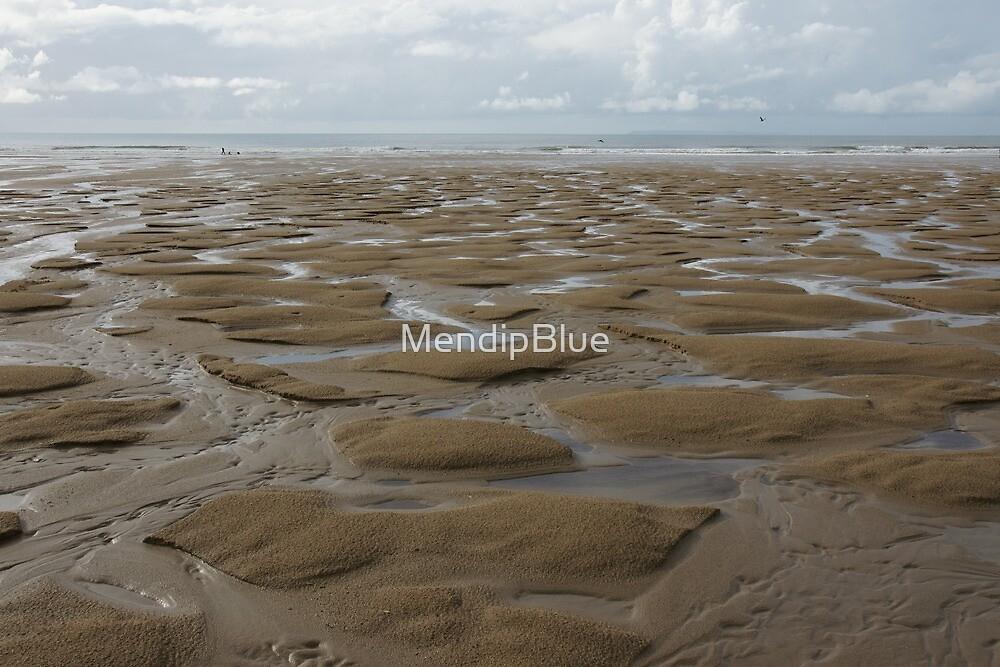 Beach at Croyde in North Devon by MendipBlue
