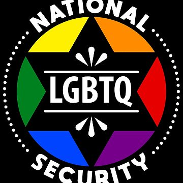 National LGBTQ Security - LGBT Pride Month Gift by yeoys