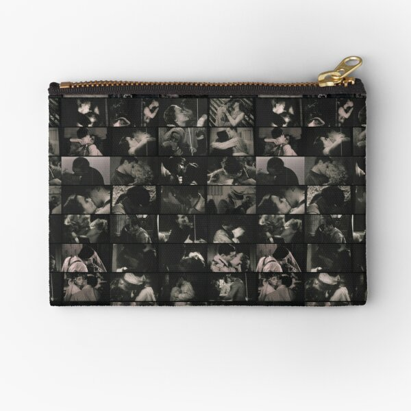 The Censored Kisses of Cinema Paradiso Zipper Pouch