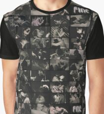 The Censored Kisses of Cinema Paradiso Graphic T-Shirt