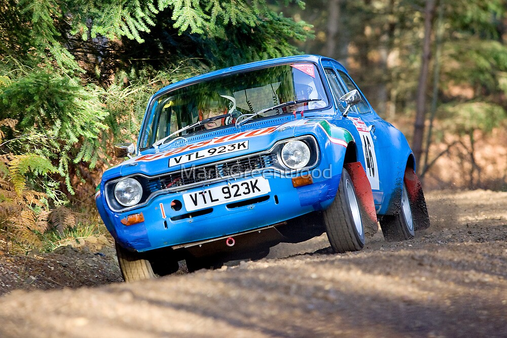 Mk 1 Rally Escort Forest Stage by Mark Greenwood