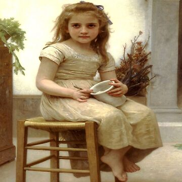 The Snack-William Adolphe Bouguereau by LexBauer