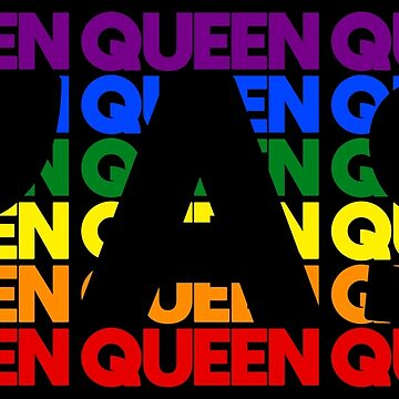 Yas Queen Queer Queen - LGBT Pride Month Gift by yeoys