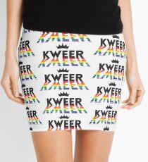 Kweer Kween Queer Queen - LGBT Pride Month Gift Mini Skirt
