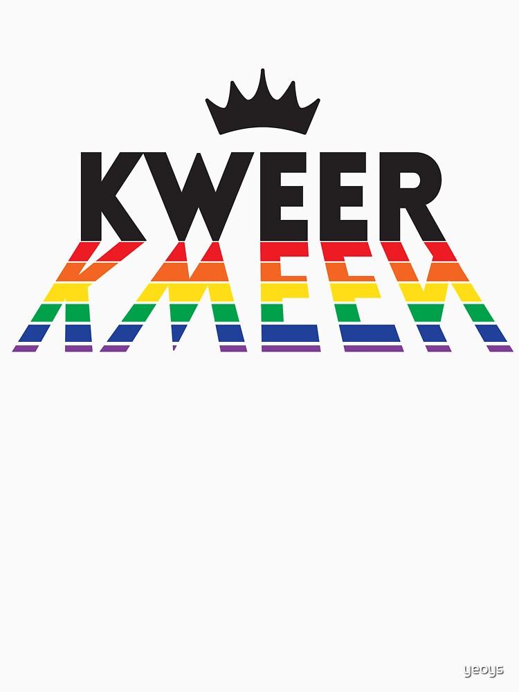 Kweer Kween Queer Queen - LGBT Pride Month Gift von yeoys
