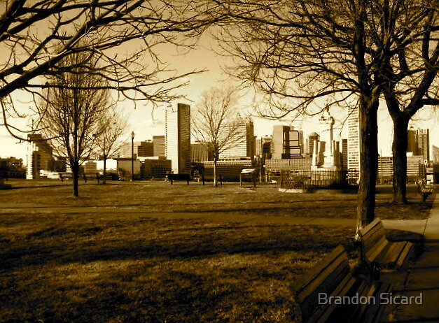 The Golden City. by Brandon Sicard
