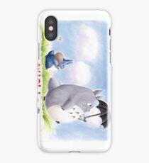 My Family Totoro iPhone Case