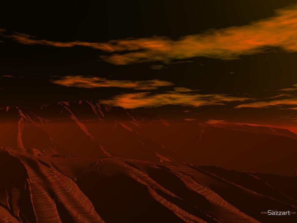 Mirage Canyon by Sazzart