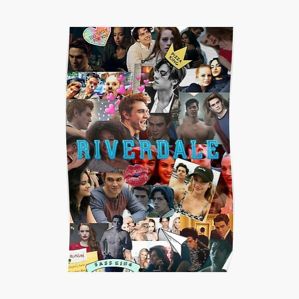 Riverdale characters collage Poster