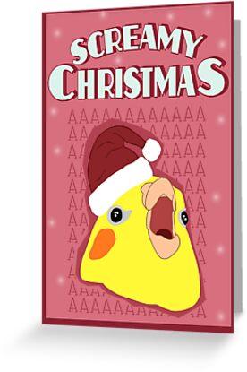 screamy christmas #2 by FandomizedRose