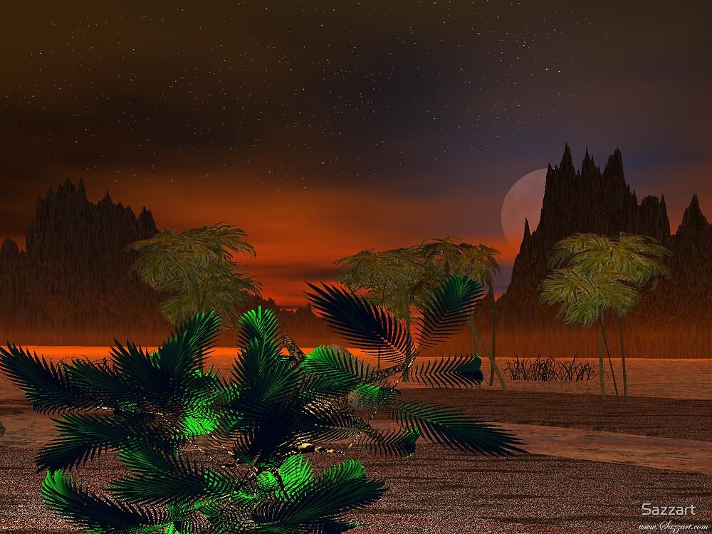 Mekong Delta Sunset3 by Sazzart