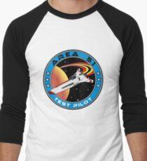 Area 51 Test Pilot Men's Baseball ¾ T-Shirt