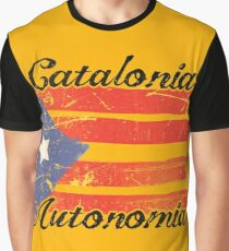 149bed68397 Catalonia Independence Catalan Graphic T-Shirt