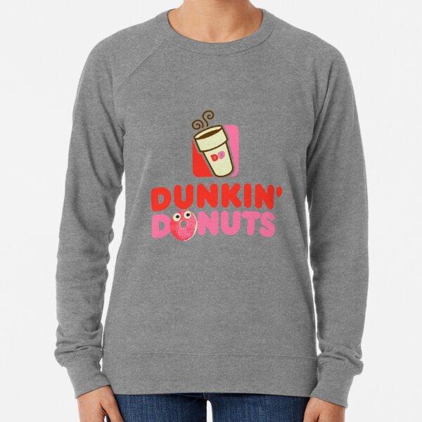 Pink logo Dunkin Donuts  Lightweight Sweatshirt
