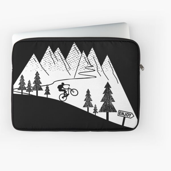 mountain bike mtb cycling cyclist MTB gift Laptop Sleeve