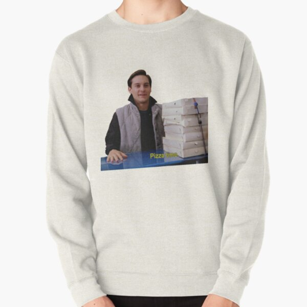 Pizza Time. Pullover Sweatshirt