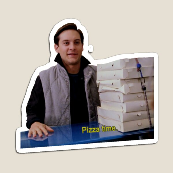 Pizza Time. Magnet