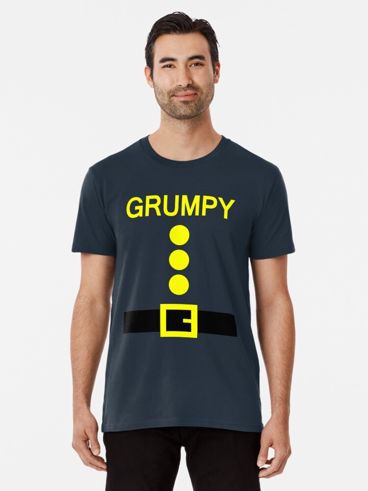 'Grumpy Dwarf Costume Shirt Funny Halloween Gifts ' Premium T-Shirt by mark  somma