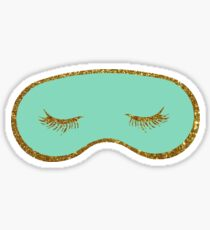 Holly's sleep mask Sticker