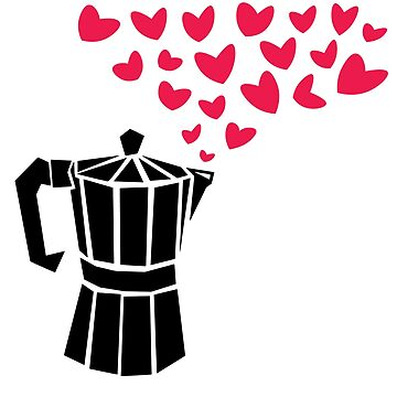 Strong Coffee Love by designkitsch