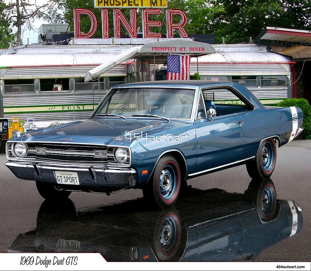 1969 Dodge Dart GTS by 454autoart