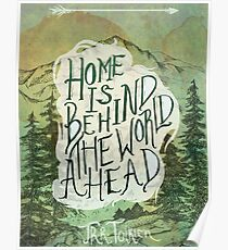 Home Is Behind Poster