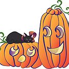 Pumpkins and Kittens by Amy-Elyse Neer