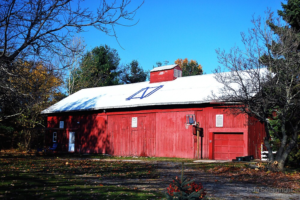 Notre Dame Barn by Judy Seltenright