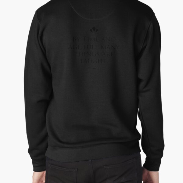 Aeschylus famous quote about age Pullover Sweatshirt