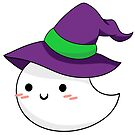Witchy Ghost Cuteness by Lanrahoun