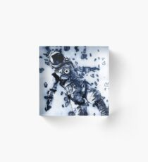 Lost in Space Acrylic Block