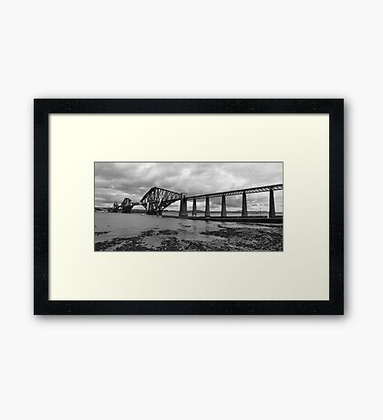The Forth Railbridge. Framed Print
