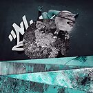 Mikhin Illustration - Digital Texture Collage 4 by MikeHindle